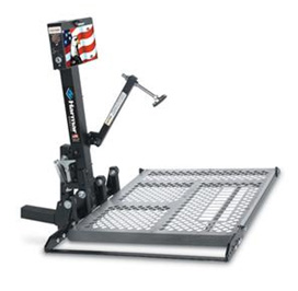 Harmar wheelchair and scooter lift