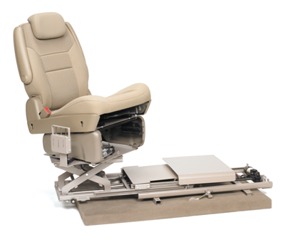 automotive seating for disabled drivers