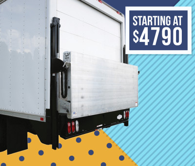 Tommy Gate Liftgate Flatbed and Van Railgate Series Dock Friendly