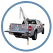 Image of Portable Cranes for Service Body Trucks