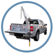 Image of Portable Pickup Receiver Hitch Cranes