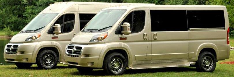 Dodge Promaster Tempest X Full Size Wheelchair Van