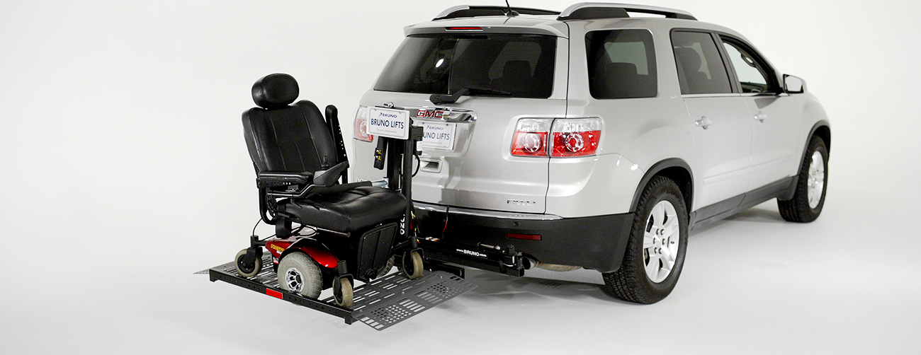 bruno wheelchair lift truck