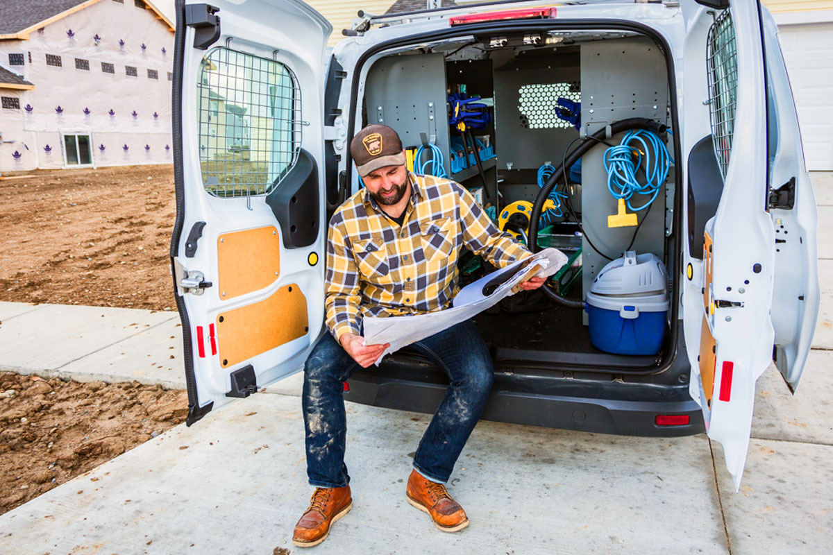 commercial upfits van constructor