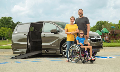Pre Owned Wheelchair Van