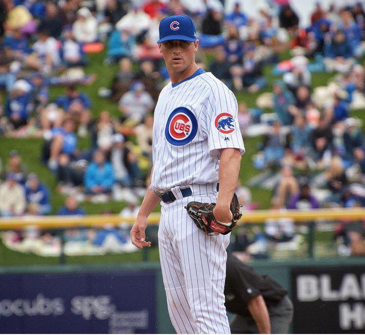 Former Van Products employee, Seth Frankoff playing for Chicago Cubs