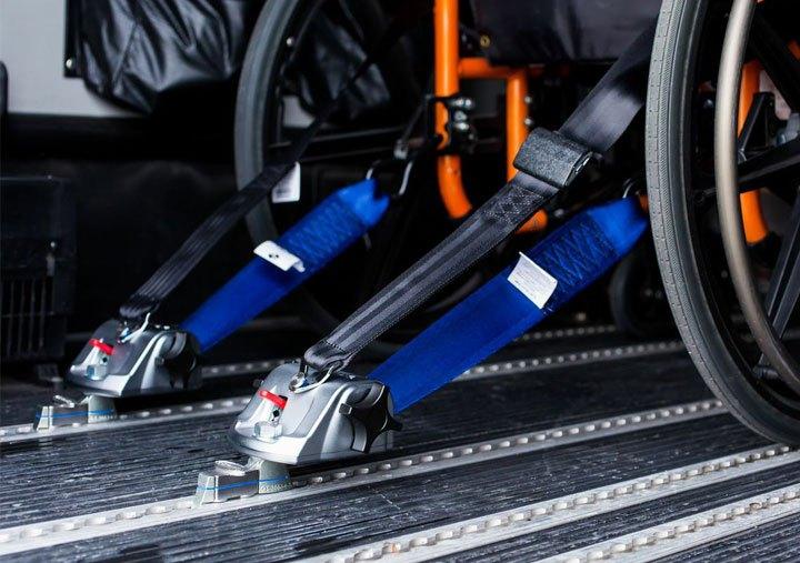 tie downs wheelchair