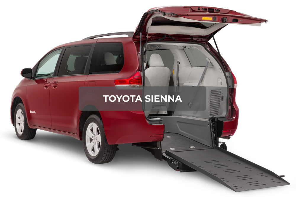 Image of Toyota Sienna Wheelchair Van