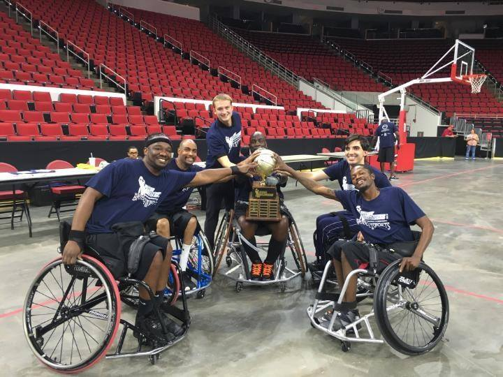Team Van Products winners at 2016 Bridge to Sports Wheelchair Basketball Tournament